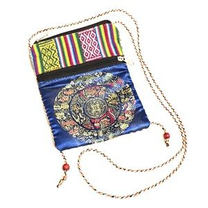 🆕👜 Guatemalan Asian CrossBody Passport Bag